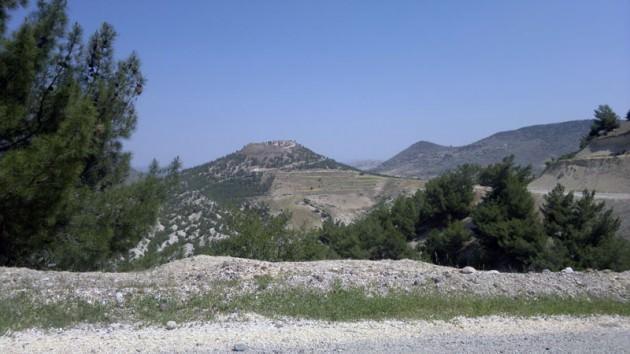 Kilis'in 24 kilometre doğusundayız...