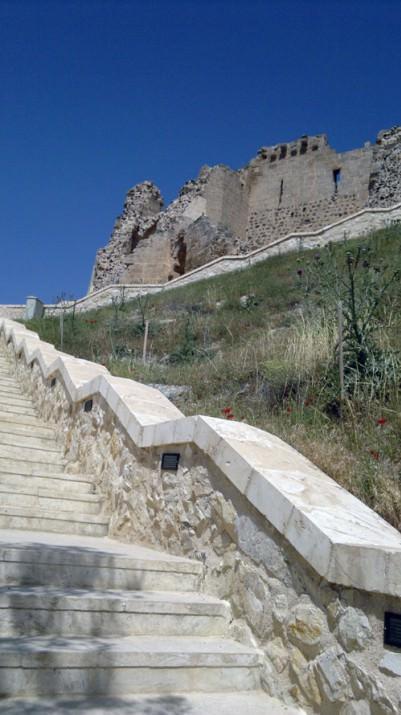 Bildiğimiz tek şey 1097 tarihinde bu kalenin Halep Maliki Rıdvan b. Tutuş'un elinde olduğu.