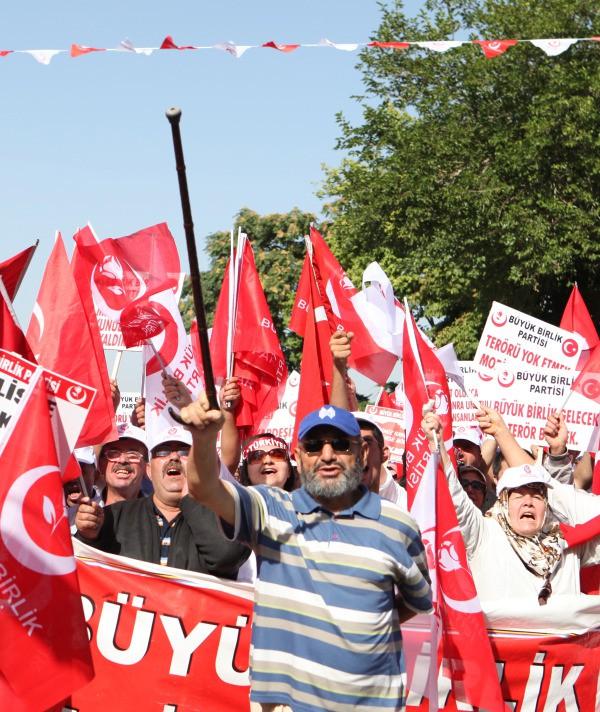 BBP'den Tandoğan'da birlik mitingi