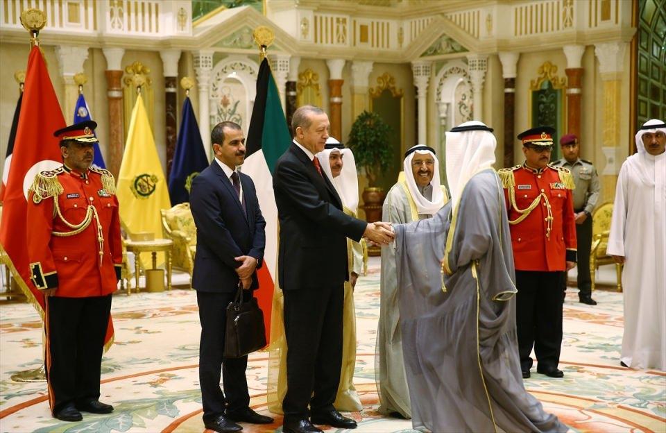 Kuveyt buluşmasından renkli fotoğrafar