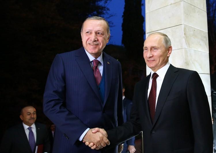 Cumhurbaşkanı Erdoğan Rusya'da!