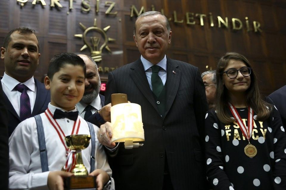 Cumhurbaşkanı Erdoğan TBMM Grup Toplantısı'nda