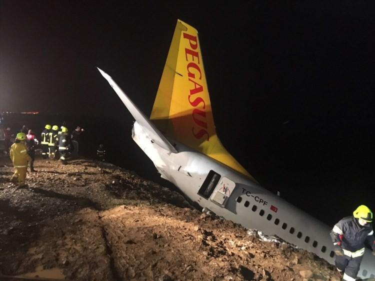 <p><strong>VALİ'DEN AÇIKLAMA!</strong></p>  <p>Trabzon Valisi Yücel Yavuz, AA muhabirine yaptığı açıklamada, Ankara'dan Trabzon'a gelen uçağın iniş yaptıktan sonra pistten dışarıya çıktığını söyledi.</p>