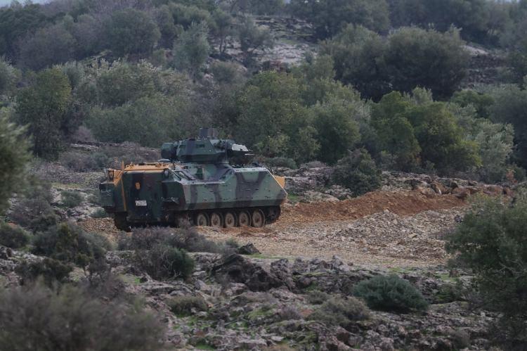 <p>Türk Silahlı Kuvvetlerinin 'Zeytin Dalı Harekatı' ikinci gününde.</p>