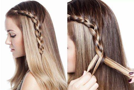 Evde yapabileceğiniz saç örgü modelleri