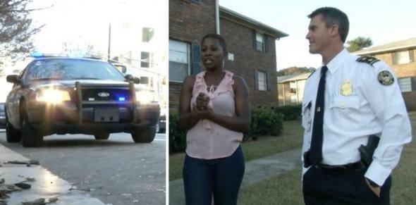 Gözaltı için durduruldu, polisi şoke etti