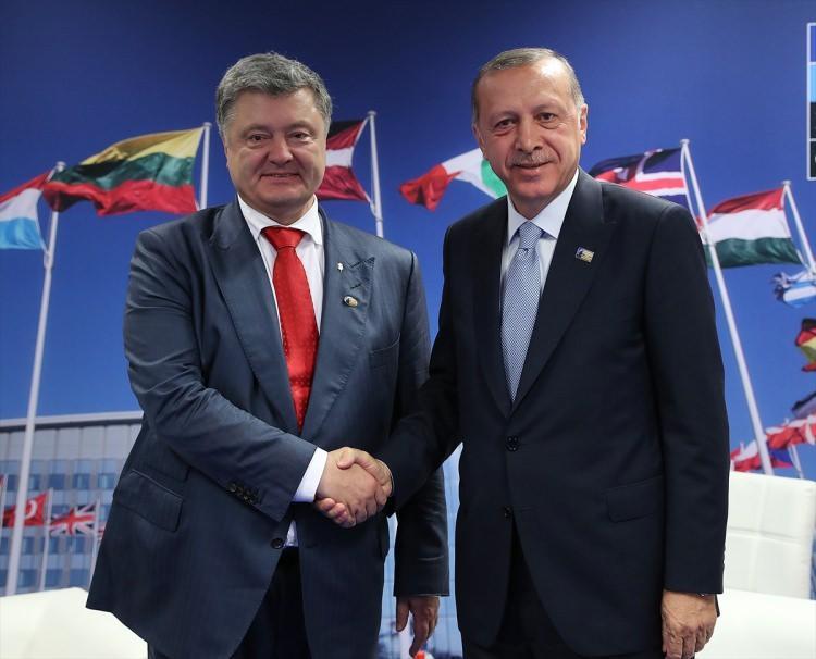 <p>Ukrayna Devlet Başkanı Petro Poroşenko</p>