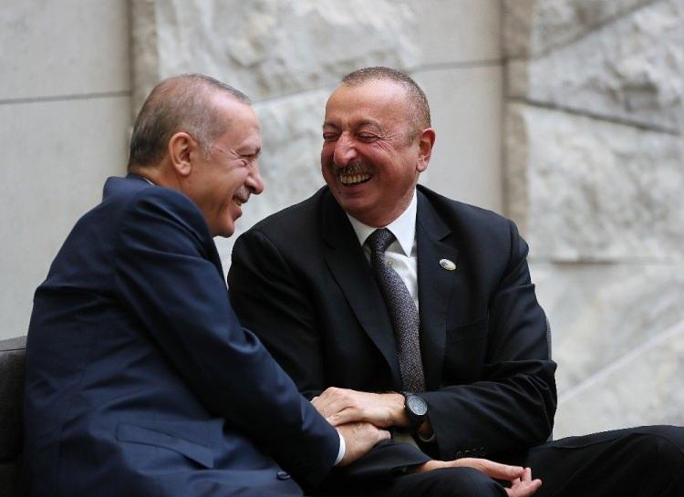 <p>Azerbaycan Cumhurbaşkanı İlham Aliyev</p>