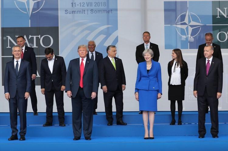 Dikkat çeken fotoğraflarla 'Nato Zirvesi'