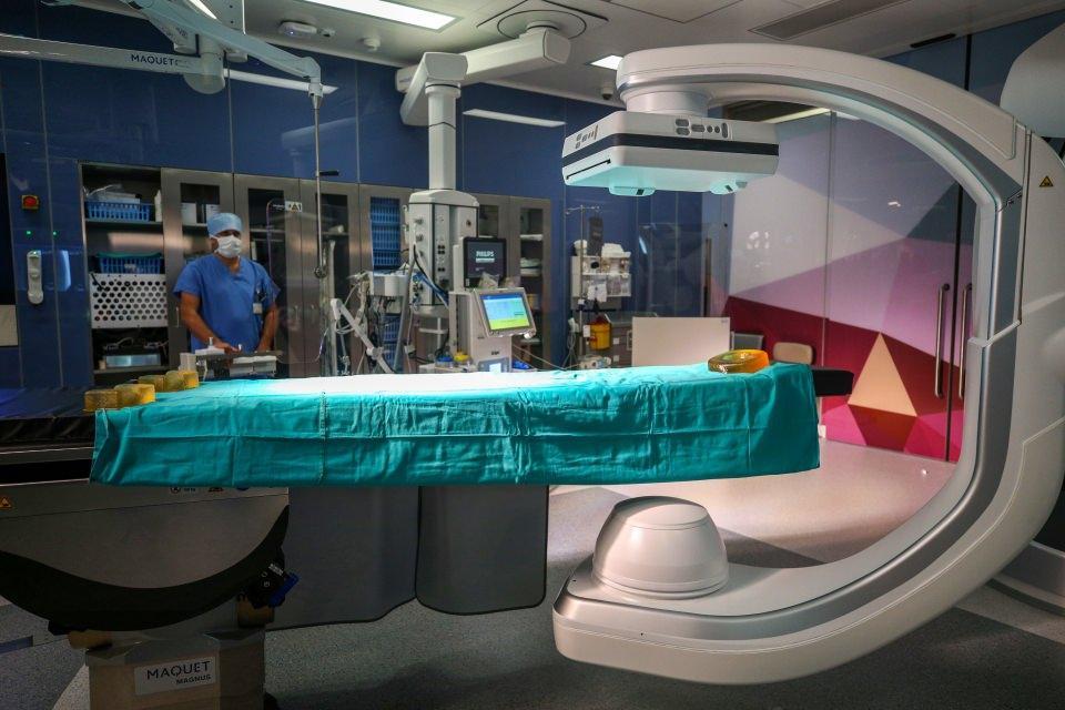 Türkiye'nin ilk 3'lü hibrit ameliyathanesi