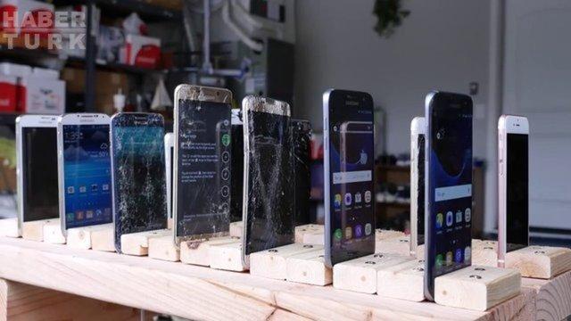 Telefonlara yapılan sıradışı testler
