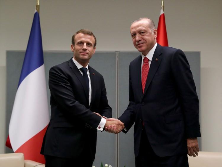 <p>Birleşmiş Milletler (BM) 73. Genel Kurulu Görüşmelerine katılmak üzere ABD'nin New York kentinde bulunan Türkiye Cumhurbaşkanı Recep Tayyip Erdoğan, Fransa Cumhurbaşkanı Emmanuel Macron ile görüştü.</p>  <p></p>