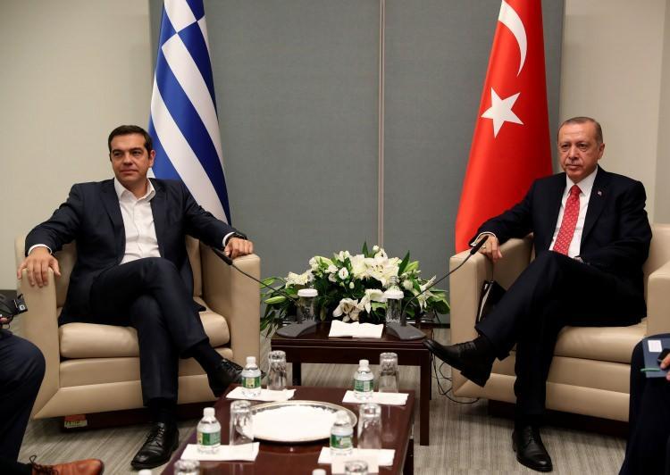 <p>Türkiye Cumhurbaşkanı Recep Tayyip Erdoğan, Birleşmiş Milletler (BM) 73. Genel Kurulu Görüşmelerine katılmak için bulunduğu New York'ta, Yunanistan Başbakanı Aleksis Çipras'ı kabul etti.</p>  <p></p>