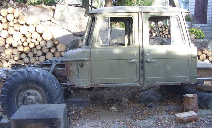 Çürümeye terk edilmiş Hummer'ın inanılmaz değişimi