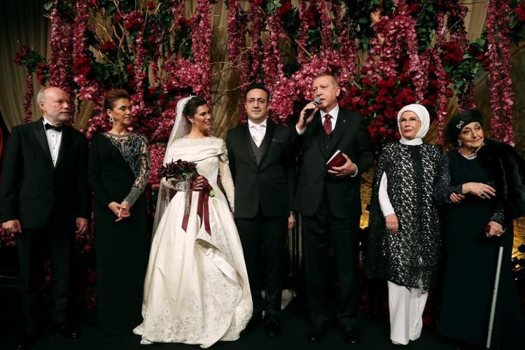 Başkan Erdoğan THY Başkan'ın nikah şahidi oldu