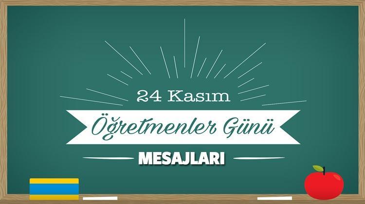 <p>Türkiye'de büyük bir coşkuyla kutlanan 24 Kasım Öğretmenler Günü için öğrenciler en güzel ve anlamlı mesajları, sözleri öğretmenlerine verecekleri hediyelere süs yapmak istiyor. Öğretmenlerinizin yüzünü güldürecek, bir ömür boyu unutmayacağı mesajları ve sözleri derledik. İşte toplumların direği öğretmenlerimiz için en çok paylaşılan sözler ve mesajlar...</p>