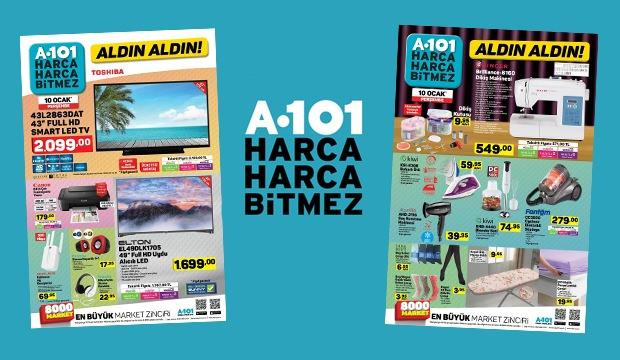 A101 10 Ocak aktüel ürün kataloğu! Teknoloji ürünlerinden kampanya