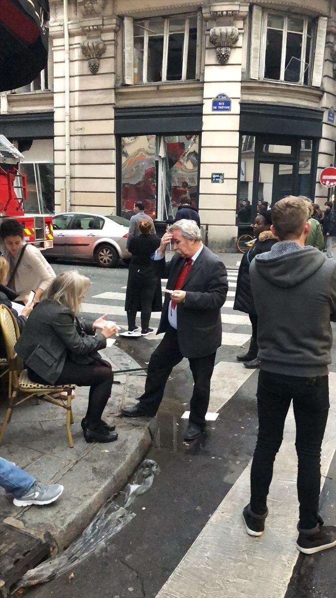 <p>Fransa'nın başkenti Paris'te bir fırında meydana gelen patlamada çok sayıda kişi yaralandı.</p>  <p></p>