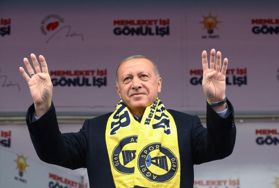 <p>Türkiye Cumhurbaşkanı ve AK Parti Genel Başkanı Recep Tayyip Erdoğan, partisince Ağrı Dörtyol Kavşağı'nda düzenlenen mitinge katılarak konuşma yaptı.</p>  <p></p>