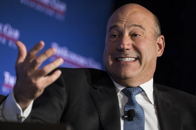 <p>Gary Cohn</p>  <p>Eski Uluslararası Ekonomi Konsey Müdürü</p>  <p>6 Mart 2018</p>