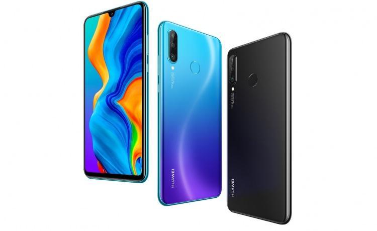 <p>– Huawei P30 lite</p>