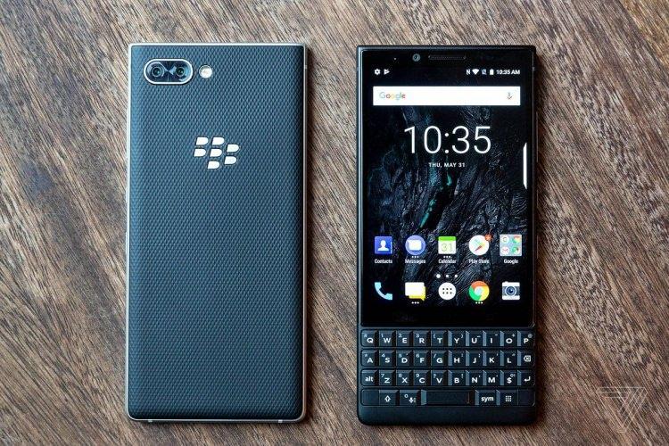 <p>– BlackBerry Key2</p>