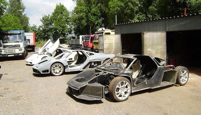 Hurdadan topladığı Mercedes ve Audi parçaları ile kendine McLaren yaptı! İşte araç