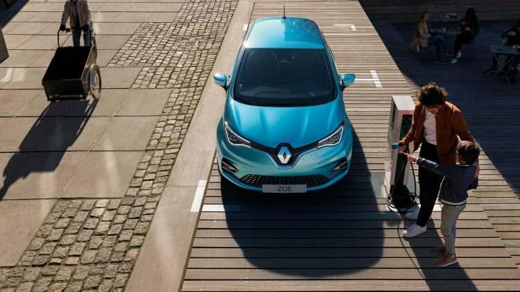 Renault Zoe 2 modeli yenilenen detayları ile etkilemeyi başardı