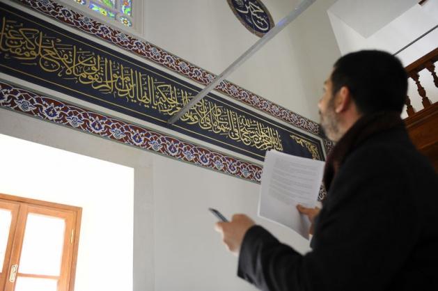 İstiklal Caddesi'nin simgelerinden Hüseyin Ağa Camii'nin restorasyonu yaklaşık 2,5 milyon liraya maloldu.