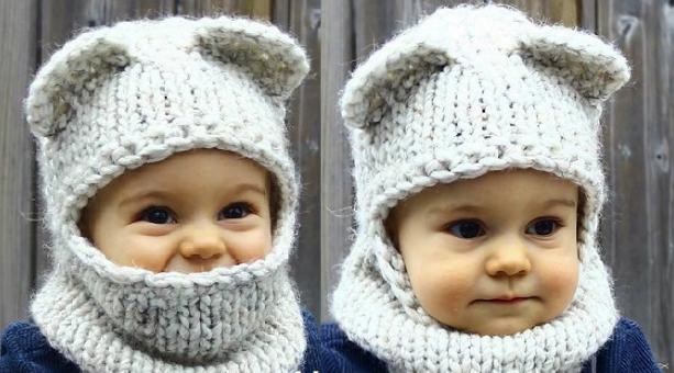 Bebekler İçin Örgü Bere Modelleri