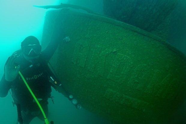 Van Gölü'nde ki batık gemi bulundu...