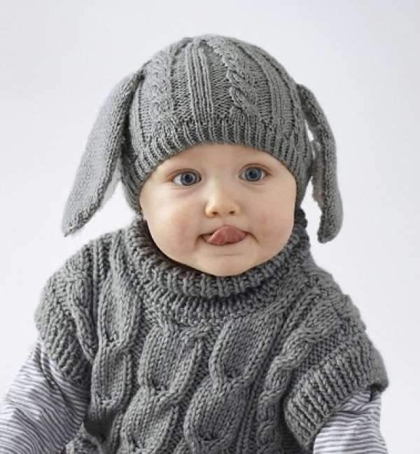 Çocuk Bere Modelleri Örgü
