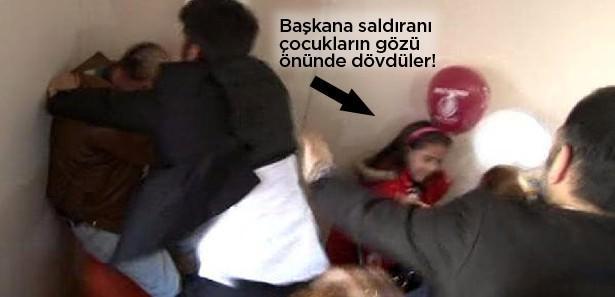 Kartal Belediye Başkanı'na saldırı