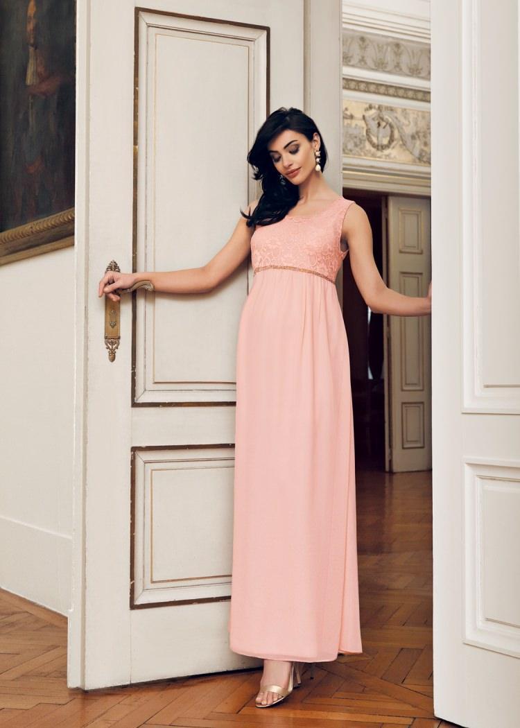 En güzel Hamile Abiye Elbise Modelleri