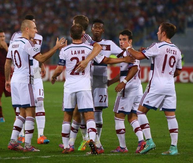 Bayern, Roma'yı resmen yaktı!