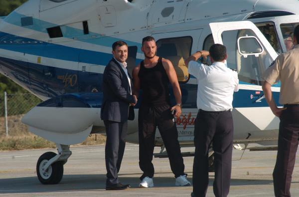 Ali Ağaoğlu'nun helikopteri transferi bitirdi