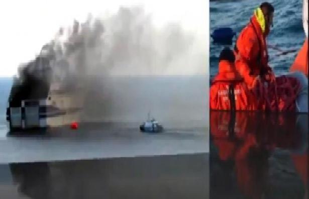 <p>Yunanistan'dan İtalya'ya giden ve 478 yolcu taşıyan bir feribotta yangın çıktı. Ölü ve yaralı konusunda henüz bir bilgi yok.</p>  <p></p>