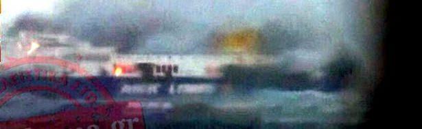 <p>Yolculardan 268'inin Yunan olduğu belirtiliken diğer yolcuların uyrukları hakkındaysa bilgi verilmedi. Cep telefonlarıyla Yunan televizyonlarına bağlanan yolcular yardım istedi.</p>  <p></p>