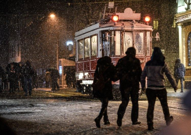 İstanbul'da kar alarmı! İşte kare kare İstanbul...