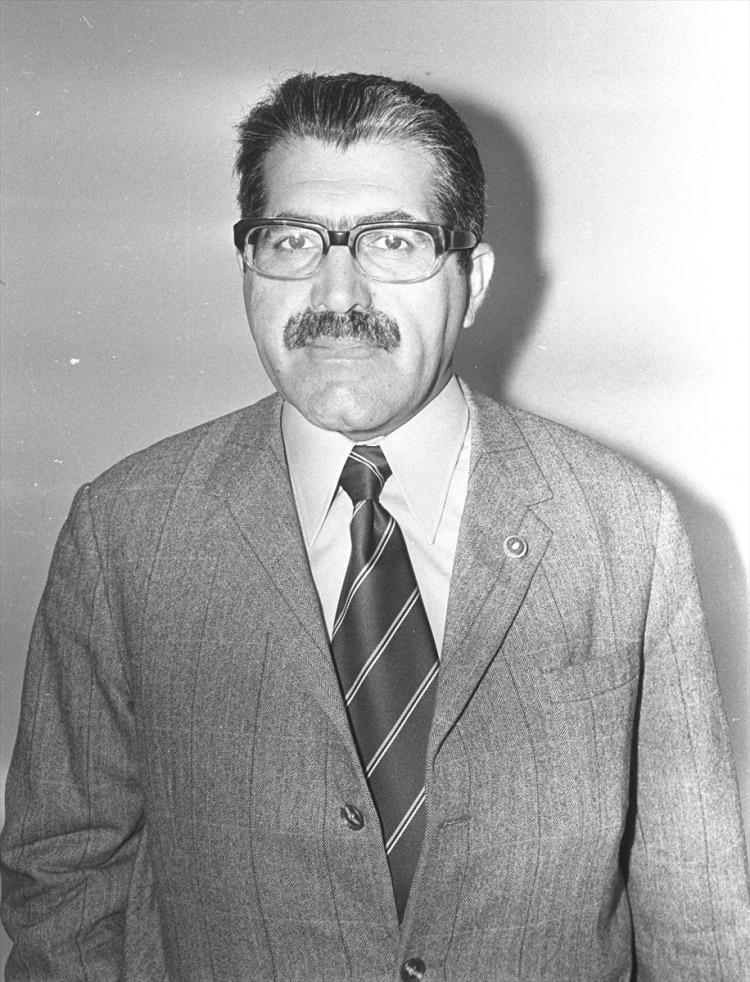 <p>1974 yılında Gıda Tarım ve Hayvancılık Bakanı Korkut Özal.</p>