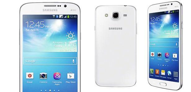 Samsung 'Mega' telefonunu tanıttı!