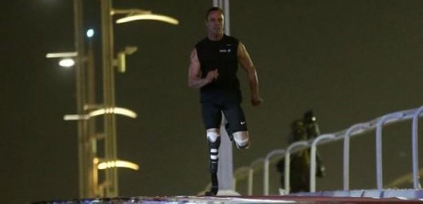 Engelli atlet Pistorius attan hızlı koştu