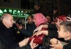 Erdoğan'dan tören sonrası ziyaret