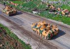 Sınır hattında askeri araç sevkiyatı