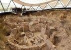 """Dünyanın en eski tapınağı Göbeklitepe'de """"titiz"""" çalışma"""