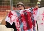 Messi ve arkadaşlarına tarihi protesto!