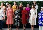 First Lady'lerin buluşmasında dikkat çeken detay