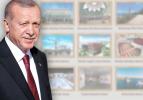 Cumhurbaşkanı Erdoğan açılışını yapacak! İşte o 9 proje...