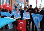 Uygur Türklerinin sesi oldular, dua ettiler
