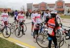 Dar Bölge Bisiklet Yarışı Aksaray Üniversitesi'nde yapıldı